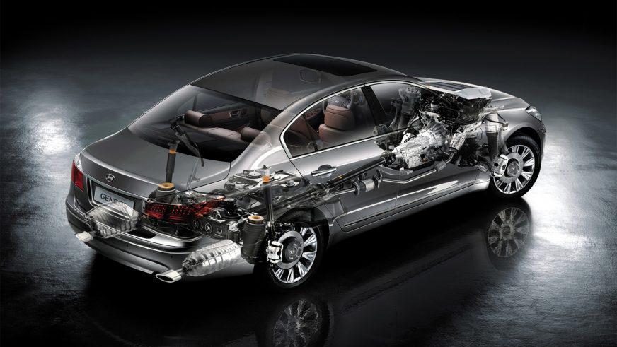 Hyundai Genesis - 2012 - шасси