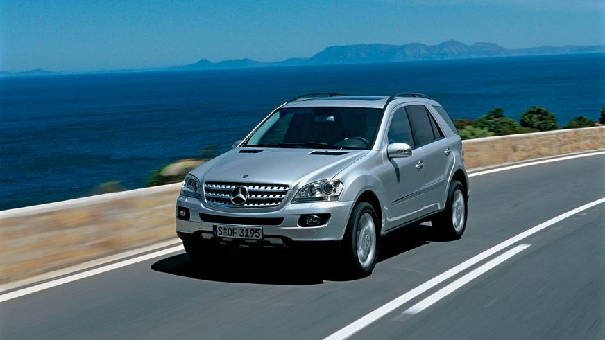 2005 год: Mercedes-Benz ML второго поколения (W164)