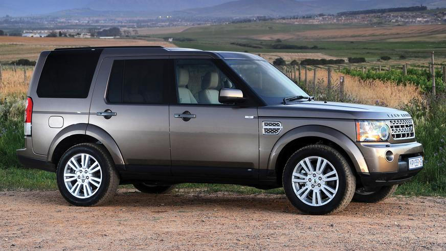 2009 год - Land Rover Discovery четвёртого поколения