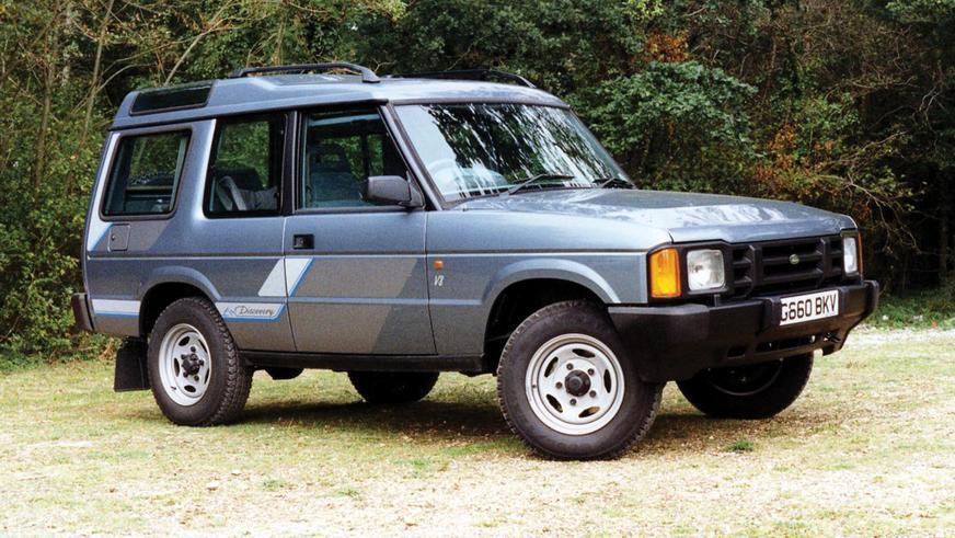1989 год - Land Rover Discovery первого поколения