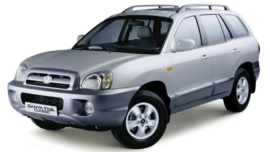 2000 год - Hyundai Santa Fe (SM)
