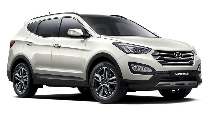 2012 год - Hyundai Santa Fe (DM)