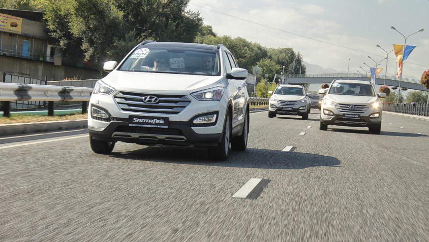 Hyundai Santa Fe - 2012