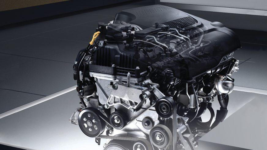 Hyundai Santa Fe - 2012 - двигатель