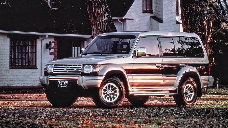 1991 год - Mitsubishi Pajero второго поколения