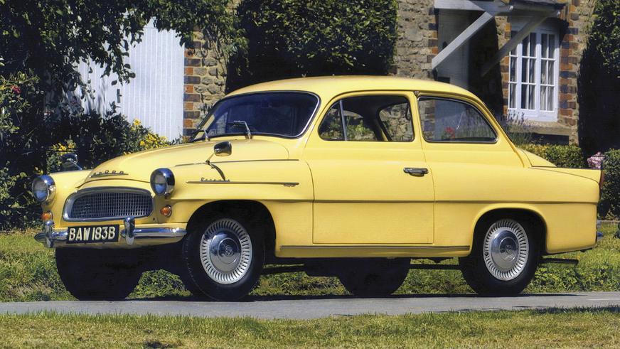 1959 год - Škoda Octavia