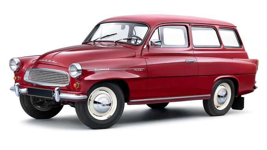 1959 год - Škoda Octavia Combi
