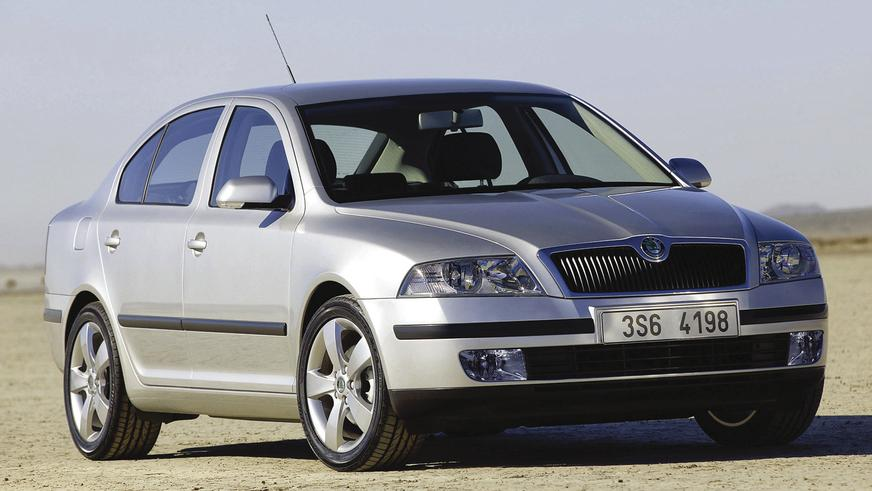 2004 год - Škoda Octavia второго поколения