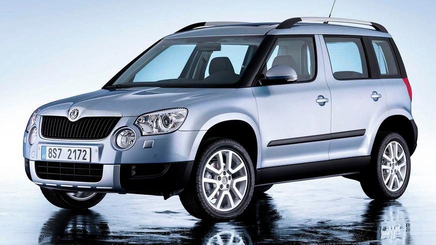 2009 год — Škoda Yeti