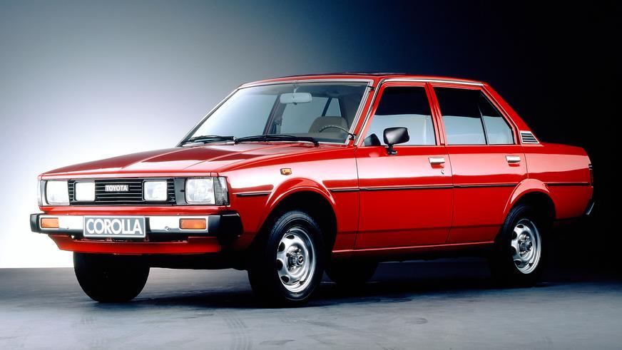 1979 год — Toyota Corolla четвёртого поколения