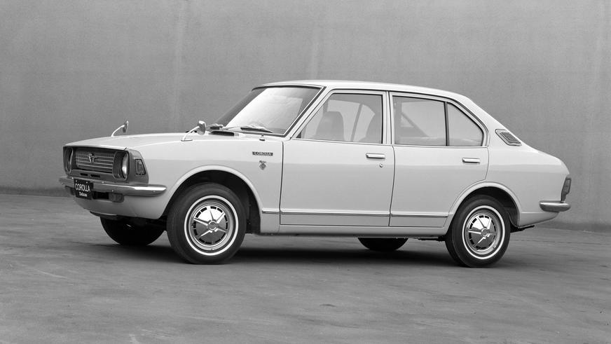 1970 год — Toyota Corolla второго поколения