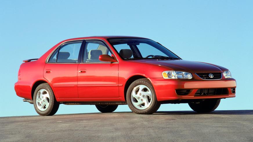 2001 год — Toyota Corolla девятого поколения