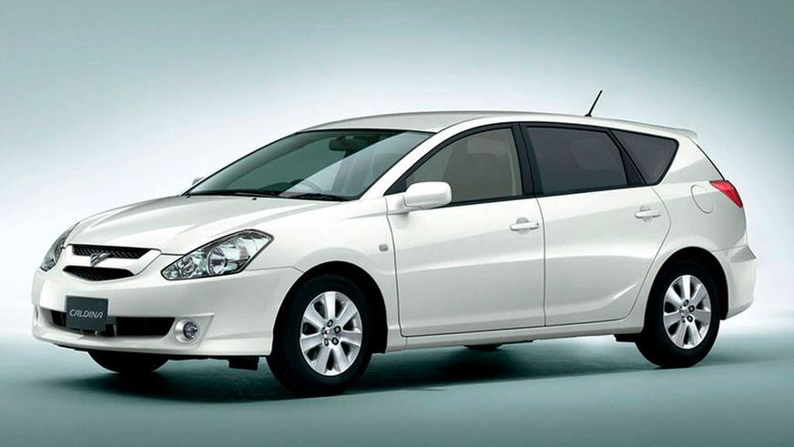 2002: Toyota Caldina. Дербес үлгі санатына өткен болатын. Мұндай кейіпте 2007 жылға дейін өмір сүреді де, үлгінің тарихы аяқталады