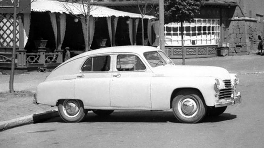 1951 год — ГАЗ М-20 «Победа» опытный