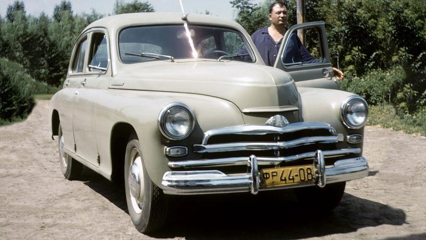 1955 год — ГАЗ М-20В «Победа»
