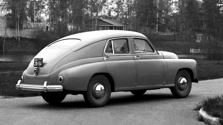 1944 год — ГАЗ М-20 «Победа» предсерийный