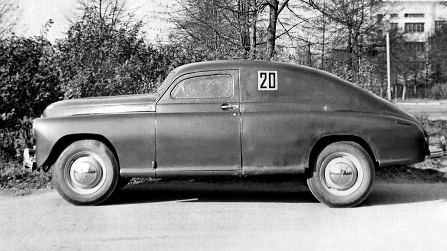 1950 год — ГАЗ М-20 «Победа» Спорт