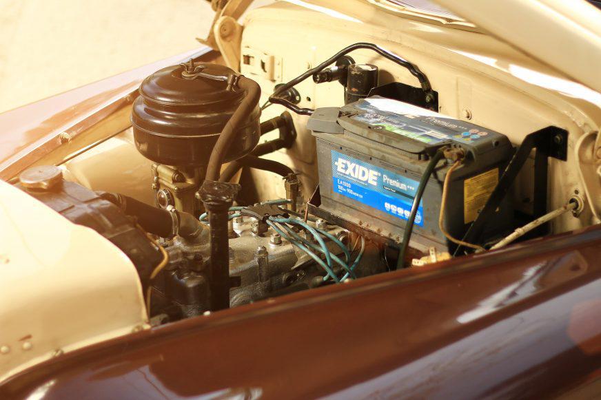ГАЗ М-20 «Победа» - 1954 - двигатель