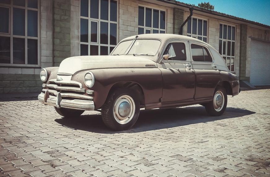 ГАЗ М-20 «Победа» - 1954