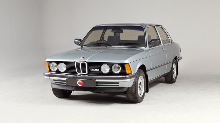 1975 год — BMW 320 Coupe (E21)