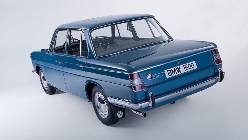 1962 год — BMW 1500 (E115)