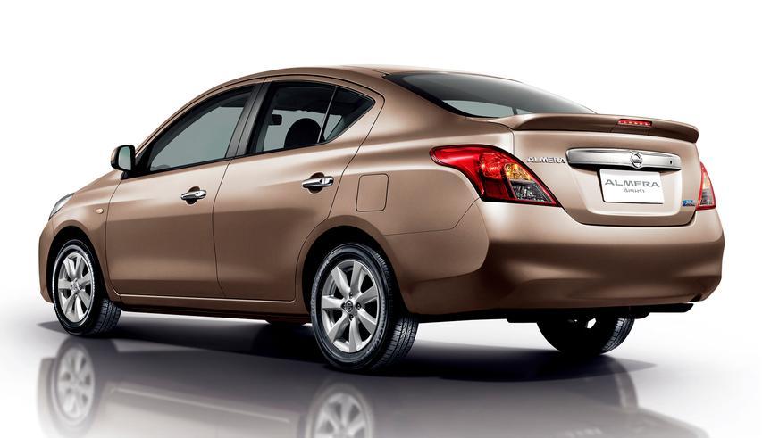 2011 год — Nissan Almera (B17) четвёртого поколения