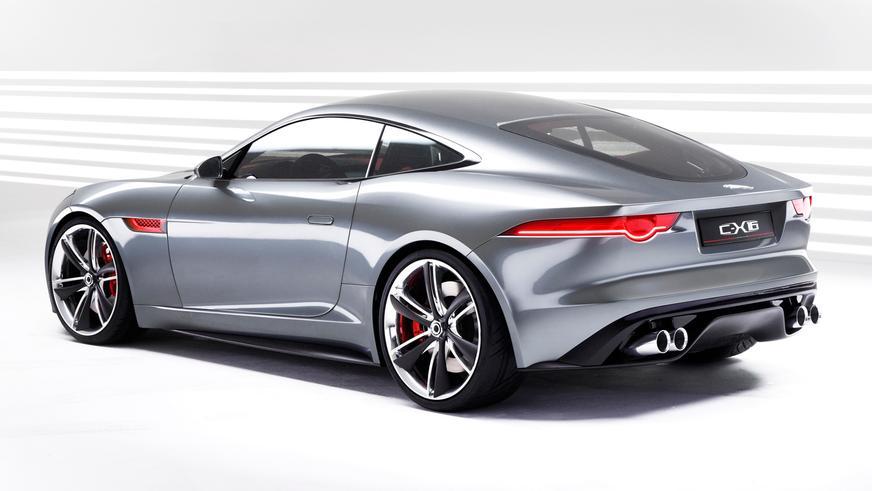 2011 год — Jaguar C-X16 Concept