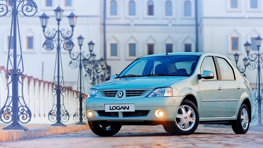 2004 год — Renault Logan первого поколения