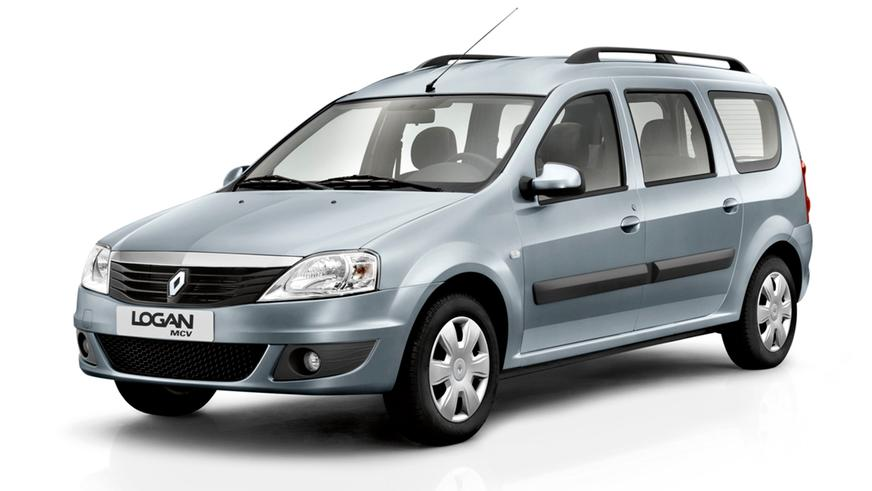 2009 год — Renault Logan MCV первого поколения