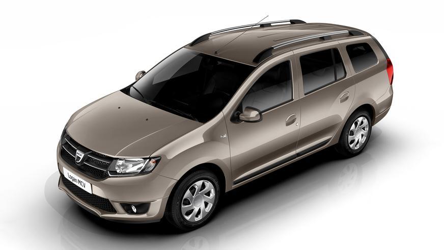 2013 год — Dacia Logan MCV второго поколения