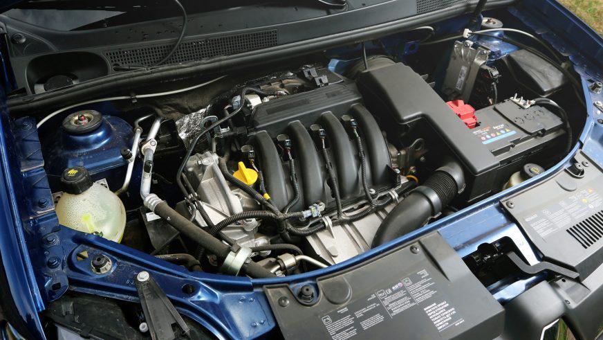 Renault Logan - 2014 - двигатель