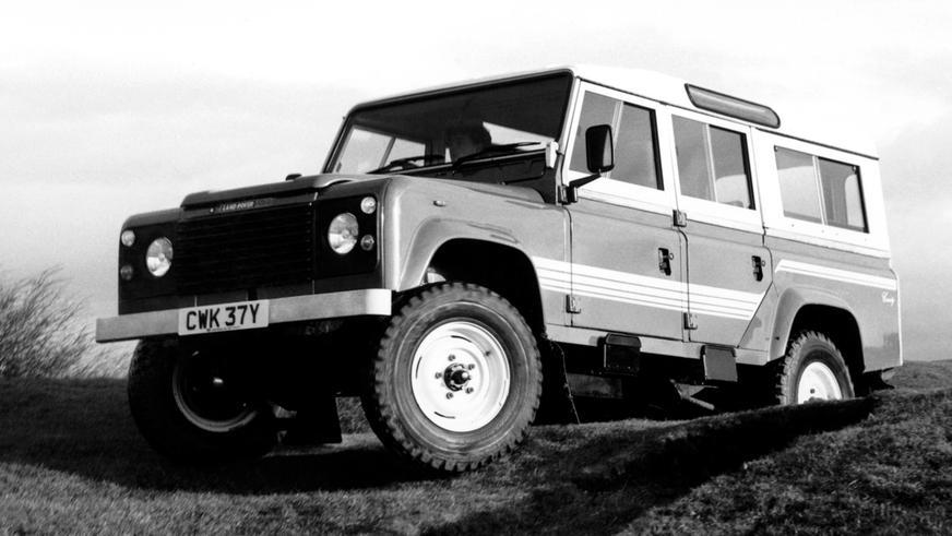 1983 год — Land Rover 110