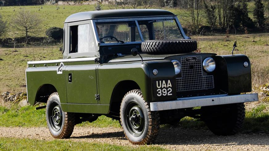 1958 год — Land Rover Series II