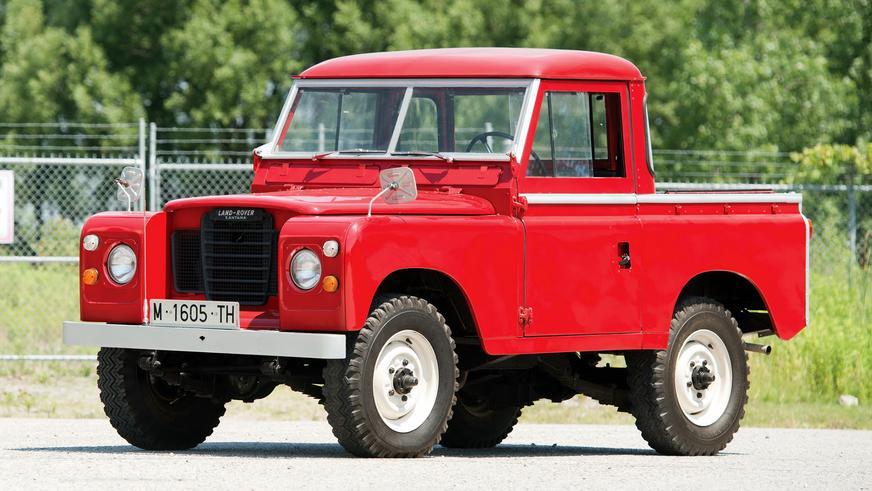 1972 год — Land Rover Series IIA