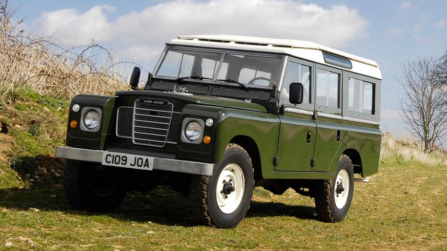 1971 год — Land Rover Series III
