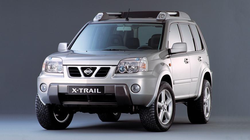 2001 год — Nissan X-Trail первого поколения (T30)