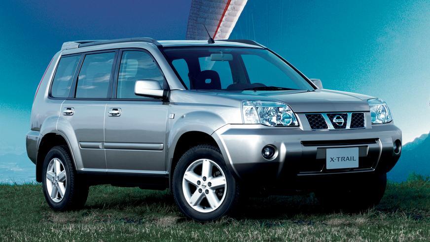 2004 год — Nissan X-Trail первого поколения (рестайлинг T30)