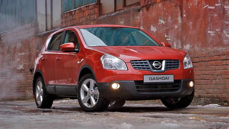 2006 год — Nissan Qashqai первого поколения