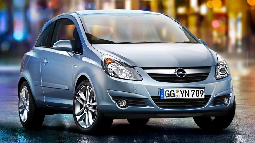 2006 год — Opel Corsa четвёртого поколения