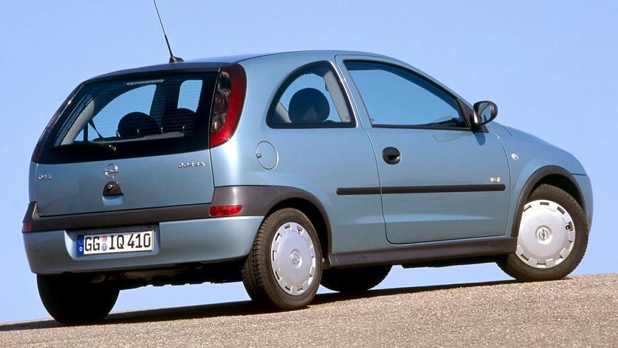 2000 год — Opel Corsa третьего поколения