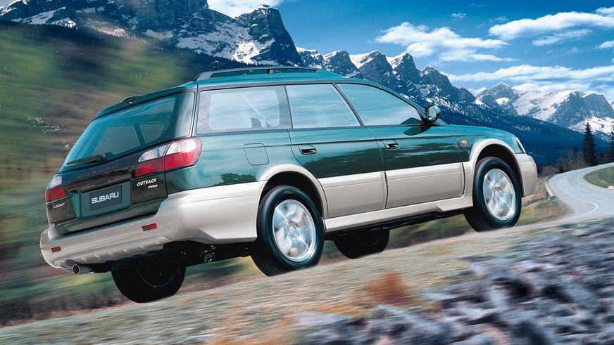 1998 год — Subaru Legacy Outback второго поколения