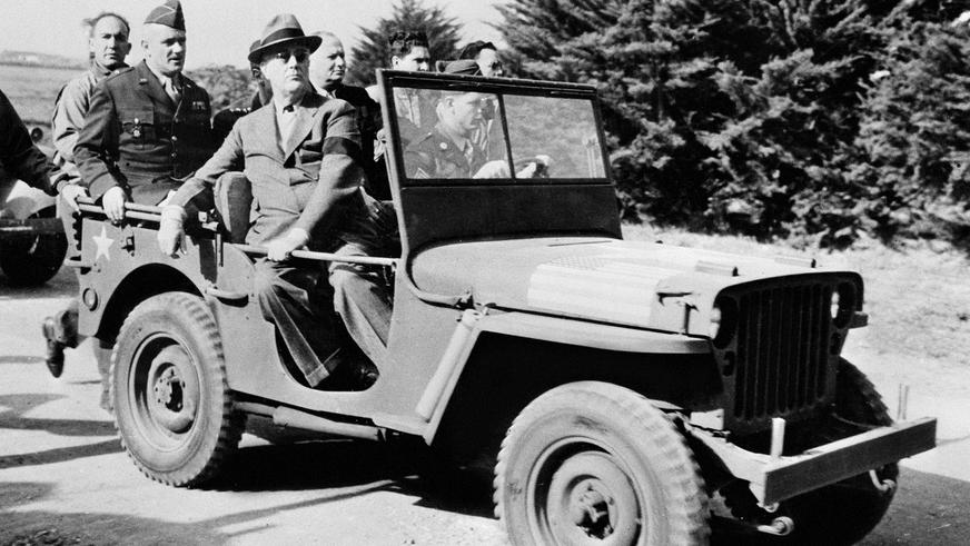 1942 год — Willys MB