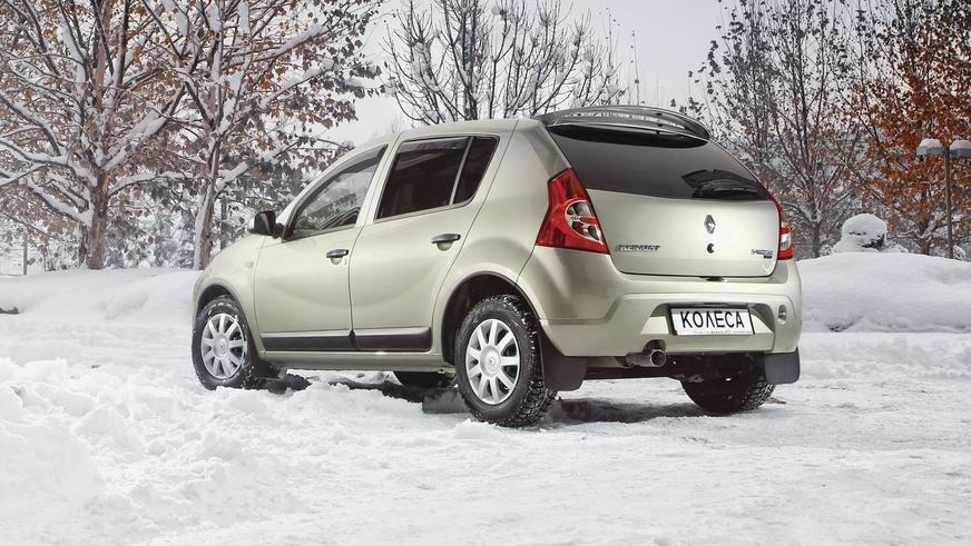 2010 год — Renault Sandero первого поколения (для рынка СНГ)