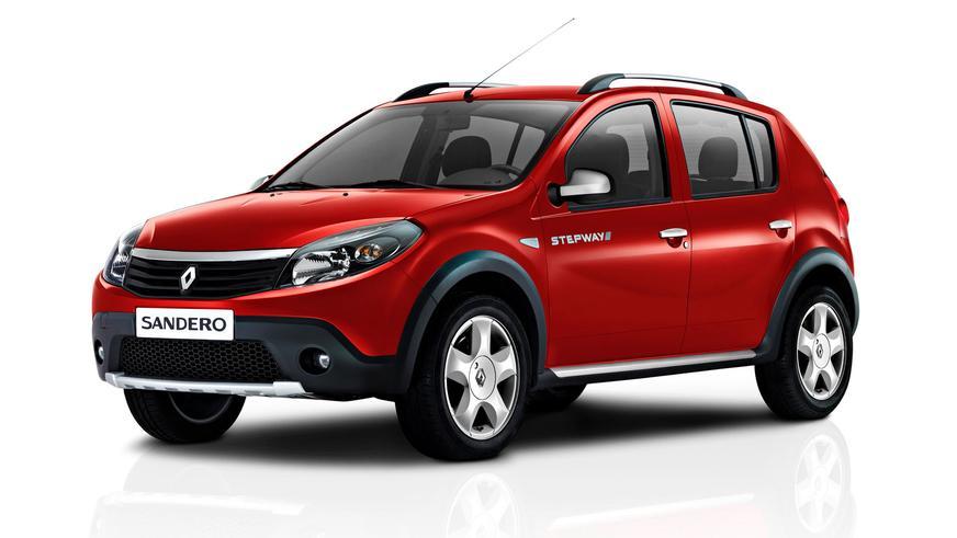 2010 год — Renault Sandero Stepway первого поколения (для рынка СНГ)