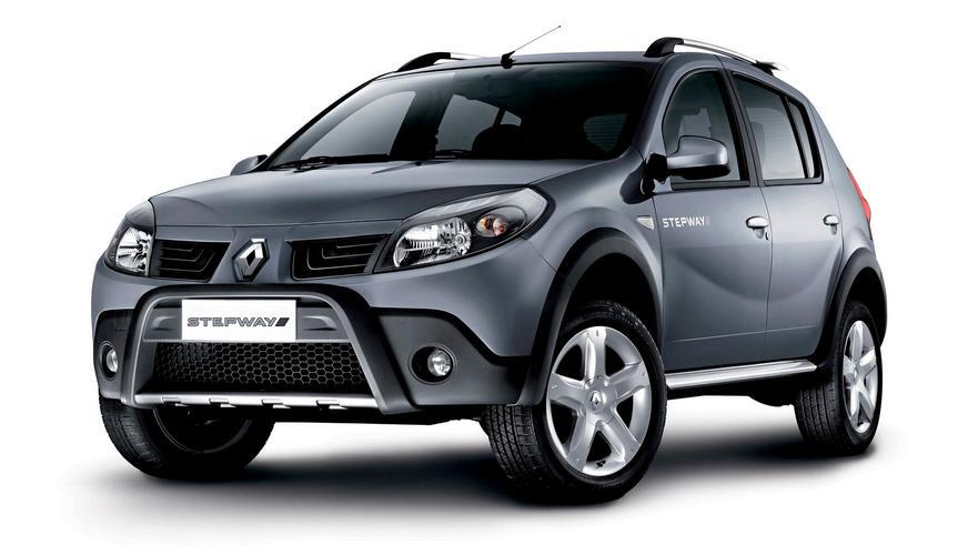 2008 год — Renault Sandero Stepway первого поколения (для рынка Южной Америки)