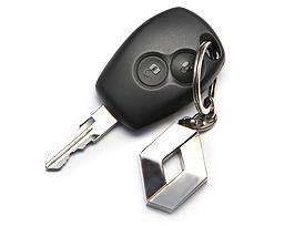 Renault Sandero - 2015 - ключ