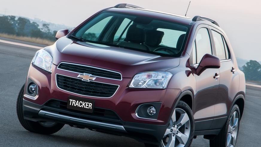 2013 год — Chevrolet Tracker