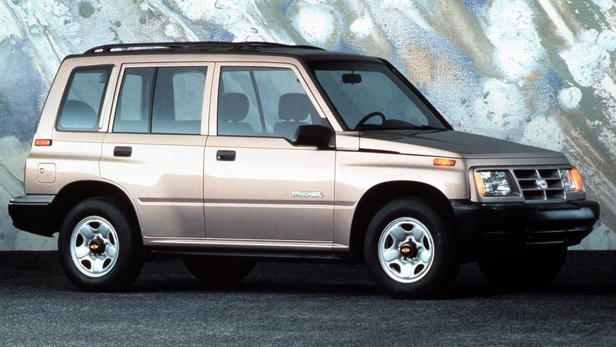 1989 год — Chevrolet Tracker