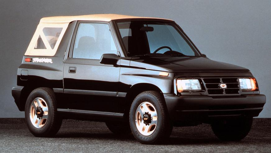 1989 год — Chevrolet Tracker Convertible