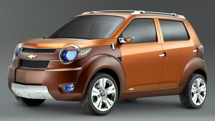 2007 год — Chevrolet Trax Concept